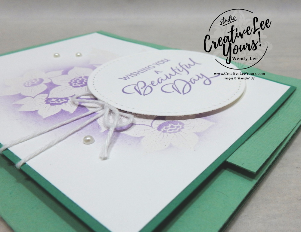 Embossed Resist Tranquil Thoughts by wendy lee, Maui Achievers Blog Hop, stampin up, stamping, SU, #creativeleeyours, creatively yours, creative-lee yours, #cardmaking, #handmadecard, #rubberstamps, #stamping, friend, celebration, congratulations, thank you, hello, birthday, thinking of you, DIY, paper crafts, #papercrafting , #papercraftingsupplies, #papercraftingisfun, tranquil Thoughts stamp set, emboss resist, embossing, flowers, stitched shapes, #technique ,#techniques