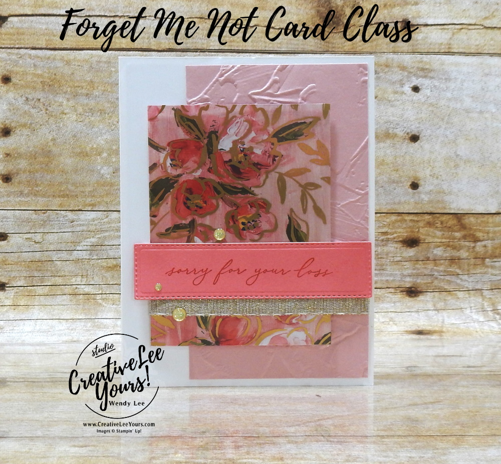 Accordion Pop-Up Center by wendy lee, Art Gallery stamp set, stampin up, stamping, SU, #creativeleeyours, creatively yours, creative-lee yours, #cardmaking, #handmadecard, #rubberstamps #stamping, friend, thinking of you, sympathy, thank you, birthday, love, anniversary, stamping, DIY, paper crafts, #papercrafting , #papercraftingsupplies, #papercraftingisfun , FMN, forget me not, ,#cardclub ,#cardclasses ,#onlinecardclasses , tutorial ,#tutorials , ,#funfoldcards ,#funfoldcard ,#makeacardsendacard ,#makeacardchangealife, #technique ,#techniques, embossing, 2 step stamping