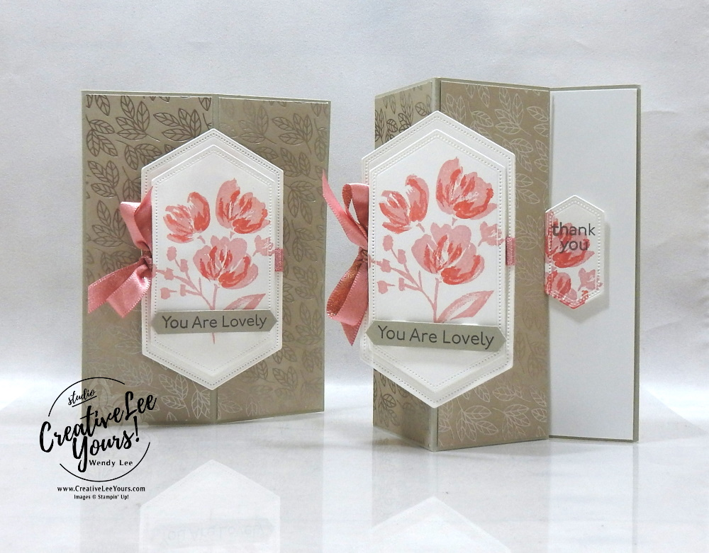 Lovely Vertical Easel by wendy lee, #creativeleeyours, creatively yours, creative-lee yours, DIY, SU, rubber stamps, class, fun fold, Art Gallery stamp set, friend, splitcoast, guest author, video, #stampinup, #stampinupdemonstrator, #cardmaking, #handmadecard, #rubberstamps, #stamping, #funfoldcards ,#funfoldcard,#tutorial ,#tutorials, #papercrafts , #papercraft , #papercrafting , #papercraftingsupplies, #papercraftingisfun, #papercraftingideas, #makeacardsendacard ,#makeacardchangealife, love you always, stand out focal point, 2 step stamping