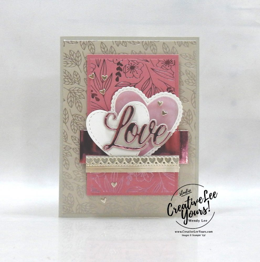 Love You So Very Much (Printable Tutorial) - Stampers Showcase Blog Hop