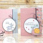 Super Cute Wobble Card by Wendy Lee