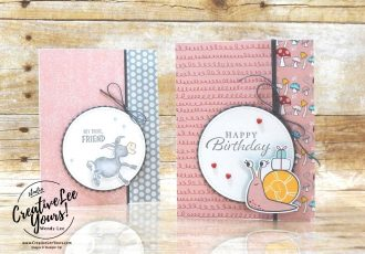 Super Cute Wobble Card by Wendy Lee