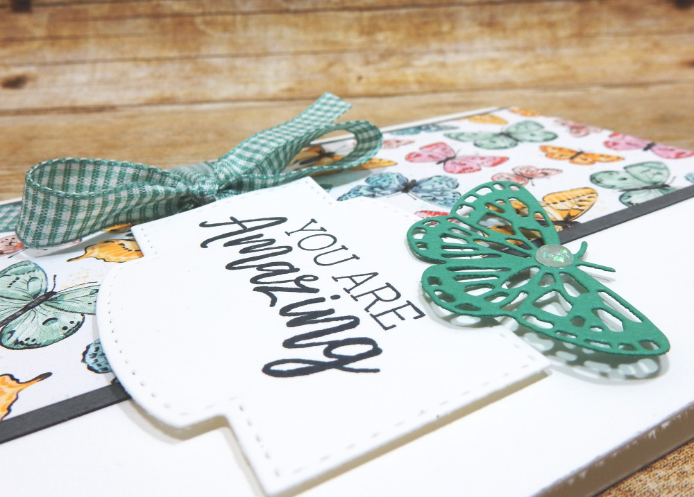 You Are Amazing by Wendy Lee, #creativeleeyours , #stampinup , #su , #stampinupdemonstrator , #cardmaking, #handmadecard, #rubberstamps, #stamping, #DIY, #papercrafts , #papercraft , #papercrafting , #papercraftingsupplies, #papercraftingisfun, #papercraftingideas, #makeacardsendacard ,#makeacardchangealife , #diemondsteam,#businessopportunity, early release. #butterflybijou, #brilliantwings, #butterflybrilliance