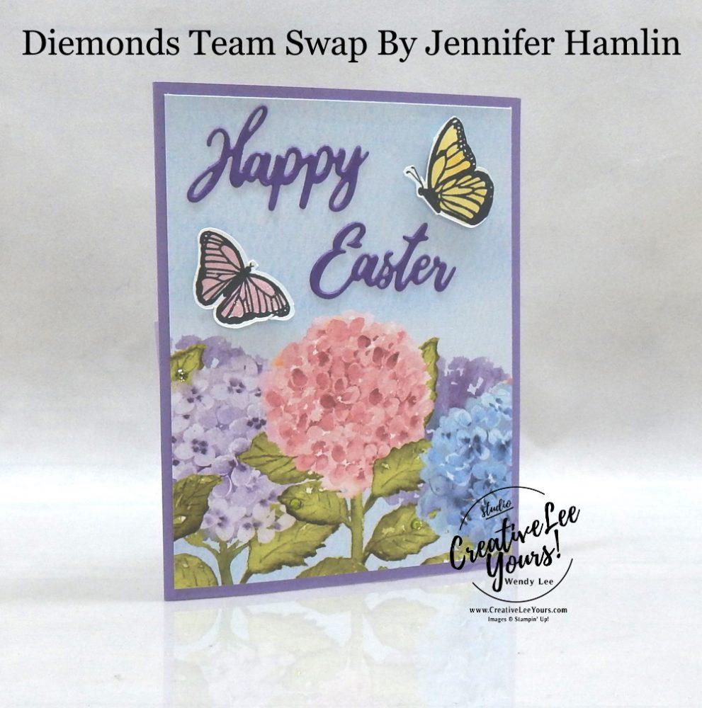 Inside Corner Pop Up Fun Fold by Jennifer Hamlin, Wendy Lee, Floating & Fluttering stamp set, Timeless Tulips stamp set, stampin up, stamping, SU, #creativeleeyours, creatively yours, creative-lee yours, #cardmaking #handmadecard #rubberstamps #stamping, friend, celebration, congratulations, thank you, hello, birthday, warm wishes, Easter, stamping, DIY, paper crafts, #papercrafting , #papercraftingsupplies, #papercraftingisfun , #makeacardsendacard ,#makeacardchangealife, #diemondsteam, #businessopportunity, #diemondsteamswap, fun fold, butterflies, pop up, spring