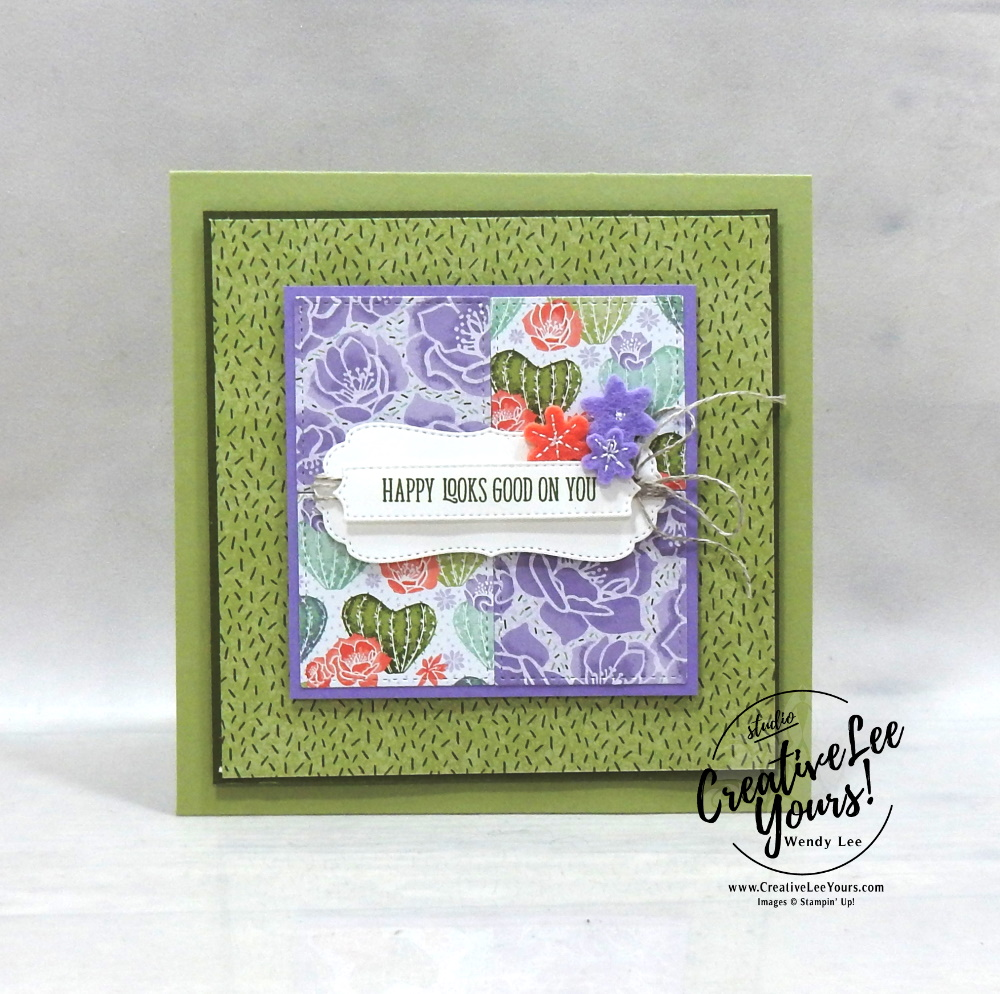 Happy Looks Good On You by Wendy Lee, All star tutorial bundle, #wendylee , #creativeleeyours , #stampinup , #su , #stampinupdemonstrator , #cardmaking, #handmadecard, #rubberstamps, #stamping, #cardclass, # cardclasses ,#onlinecardclasse,#tutorial ,#tutorials #DIY, #papercrafts , #papercraft , #papercrafting , #papercraftingsupplies, #papercraftingisfun, #papercraftingideas, #makeacardsendacard ,#makeacardchangealife, #subscription, #product suites, Fine Art Floral Suite, Love You Always Suite, Hydrangea Hill Suite, Flowering Cactus Product Medley, Ice-Cream Corner Suite, Sand & Sea Suite