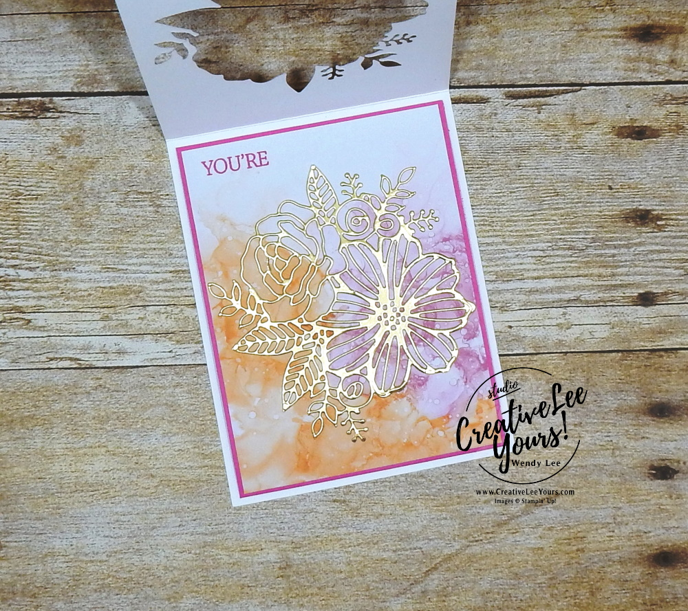 Vertical Tri-Fold Window by wendy lee, #creativeleeyours, creatively yours, creative-lee yours, DIY, SU, rubber stamps, class, thank you, birthday, artistically inked stamp set, Create with Friends stamp set, friend, splitcoast, guest author, video, #stampinup, #stampinupdemonstrator, #cardmaking, #handmadecard, #rubberstamps, #stamping, #funfoldcards ,#funfoldcard,#tutorial ,#tutorials, #papercrafts , #papercraft , #papercrafting , #papercraftingsupplies, #papercraftingisfun, #papercraftingideas, #makeacardsendacard ,#makeacardchangealife, expressions in ink