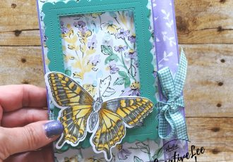 Framed Butterfly Gift Card Holder by wendy lee, #wendylee , #creativeleeyours , #stampinup , #su , #stampinupdemonstrator , #cardmaking, #handmadecard, #rubberstamps, #stamping, #cardclass #cardclasses ,#onlinecardclasses,#tutorial ,#tutorials #DIY, #papercrafts , #papercraft , #papercrafting , #papercraftingsupplies, #papercraftingisfun, #papercraftingideas, #makeacardsendacard ,#makeacardchangealife , #livepapercrafting, #card, #friend, #birthday, #facebooklive, #video, #livepapercrafting, #facebooklive, #thankyoucard, #giftcardholder, #butterflybrilliance, #colorandcontour, #moneyholder, #funfold, #handpenned