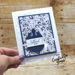 Elegantly Thank You by Wendy Lee, Elegantly Said stamp set, elegant punch, Stampin