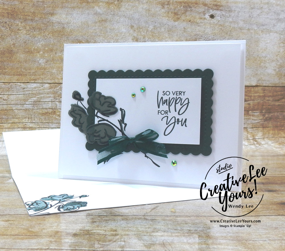 So Very Happy by wendy lee, #creativeleeyours, creatively yours, creative-lee yours, DIY, SU, rubber stamps, class, thank you, birthday, Color & Contour stamp set, friend, birthday, anniversary, wedding, #stampinup, #stampinupdemonstrator, #cardmaking, #handmadecard, #rubberstamps, #stamping,#tutorial ,#tutorials, #papercrafts , #papercraft , #papercrafting , #papercraftingsupplies, #papercraftingisfun, #papercraftingideas, #makeacardsendacard ,#makeacardchangealife, Facebook live, video, shimmer vellum,#cardclasses ,#onlinecardclasses #technique ,#techniques, in color club, fast and easy, #offsetstamping