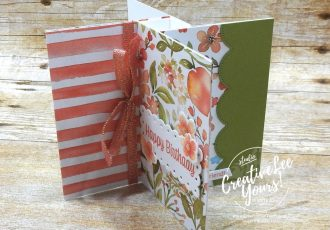 Birthday Pinwheel Fun Fold by wendy lee, Youre A Peach stamp set, Peach dies, You're A Peach, stampin up, stamping, SU, #creativeleeyours, creatively yours, creative-lee yours, #cardmaking, #handmadecard, #rubberstamps #stamping, friend, thinking of you, sympathy, thank you, birthday, love, anniversary, stamping, DIY, paper crafts, welcome, #papercrafting , #papercraftingsupplies, #papercraftingisfun , FMN, forget me not, ,#cardclub ,#cardclasses ,#onlinecardclasses , tutorial ,#tutorials ,#funfoldcards ,#funfoldcard ,#makeacardsendacard ,#makeacardchangealife, pinwheel fun fold