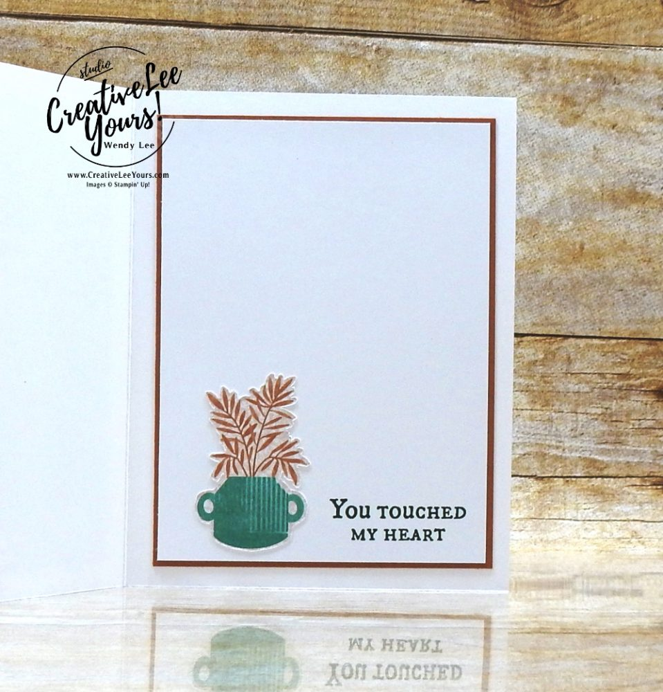 Biggest Thanks by wendy lee, #creativeleeyours, creatively yours, creative-lee yours, DIY, SU, rubber stamps, class, thank you, birthday, Plentiful Plants stamp set, friend, birthday, anniversary, wedding, #stampinup, #stampinupdemonstrator, #cardmaking, #handmadecard, #rubberstamps, #stamping,#tutorial ,#tutorials, #papercrafts , #papercraft , #papercrafting , #papercraftingsupplies, #papercraftingisfun, #papercraftingideas, #makeacardsendacard ,#makeacardchangealife, Facebook live, video,#cardclasses ,#onlinecardclasses, #pottedsucculents, #Perfectplantsdies, #patternpaper, #DSPsale, #papersale, 15%off